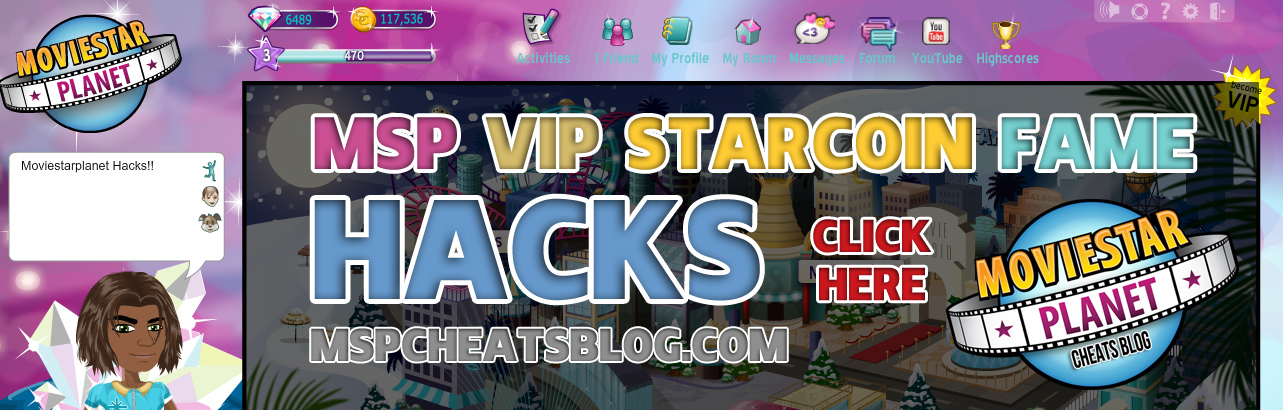Moviestarplanet Cheats Blog Msp Hacks Starcoin And Vip