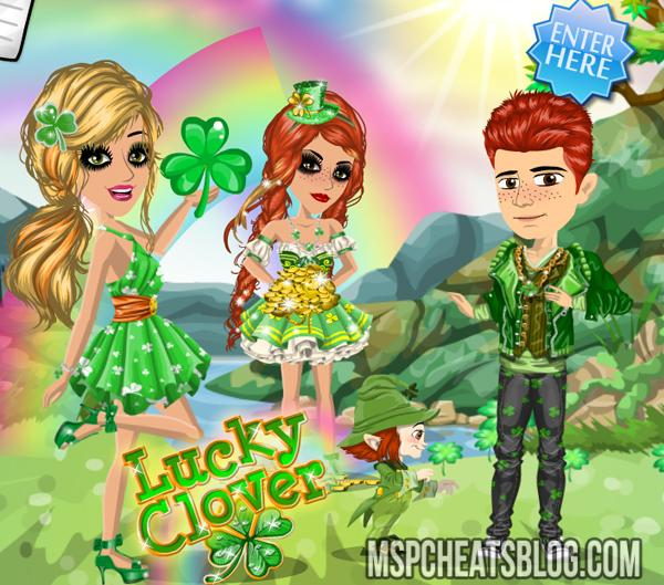 moviestarplanet-lucky-clover