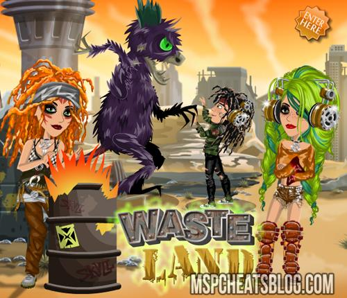 Moviestarplanet Waste Land Competition
