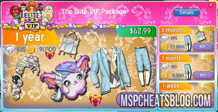 Moviestarplanet Updates – Elite VIP Packages Fall 2014