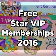 Free Moviestarplanet 2016 Star VIP Memberships