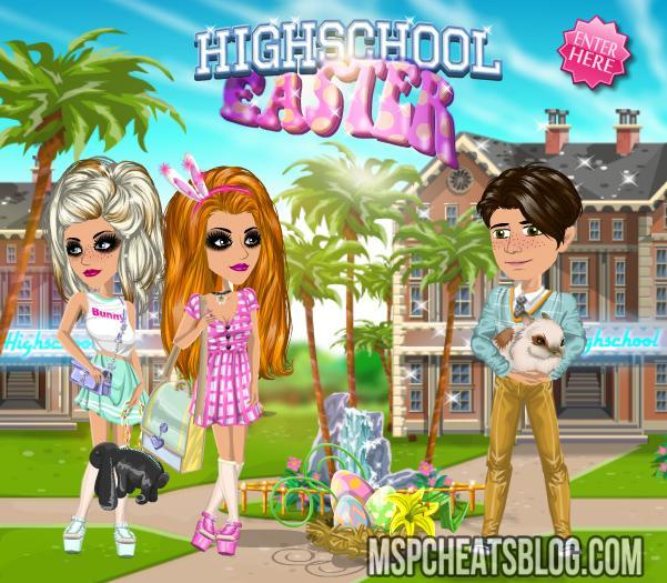 Highschool Easter Competition Moviestarplanet Cheats