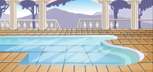 glamour spa background